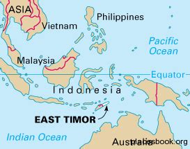 where is east timor on the map east timor map all places and travel tourism directory