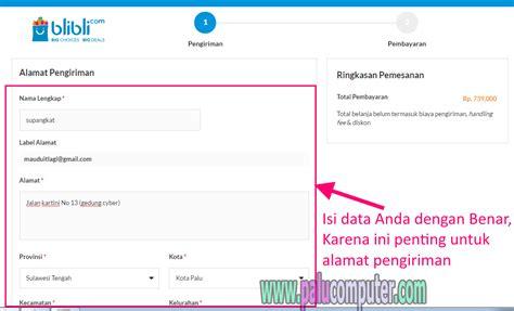 blibli alamat cara belanja di blibli com membeli barang dengan transfer