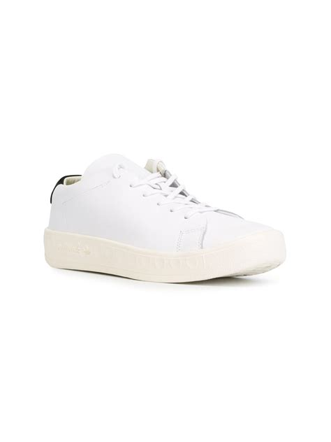 clean sneakers adidas originals clean court sneakers in white for