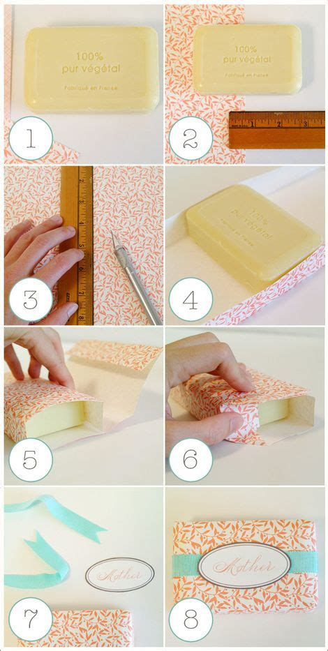 How To Wrap Handmade Soap - wrap your own soap diy wraps