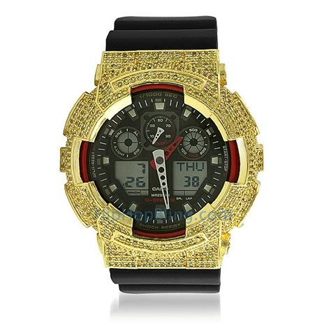lemonade cz custom casio g shock ga100 custom g