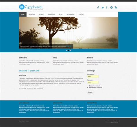 drupal themes for business website business theme drupal org