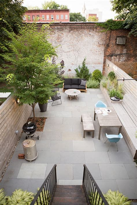 backyard brooklyn garden designer visit a low maintenance brooklyn backyard by new eco landscapes