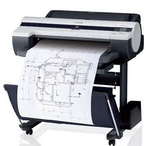 Printer A1 canon ipf605 a1 large format cad printer