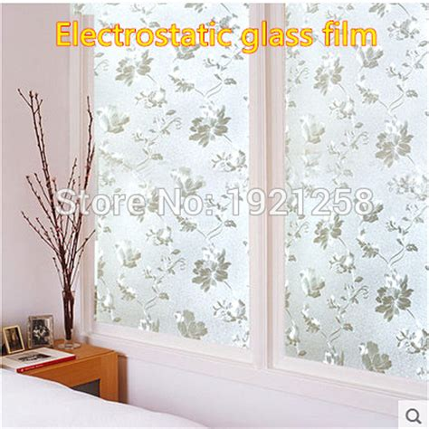 Wallpaper Sticker Frozen 45 Cm X 5 Mtr Wall Stiker aliexpress buy 50cm 300cm glass 3d static window paper wall sticker waterproof