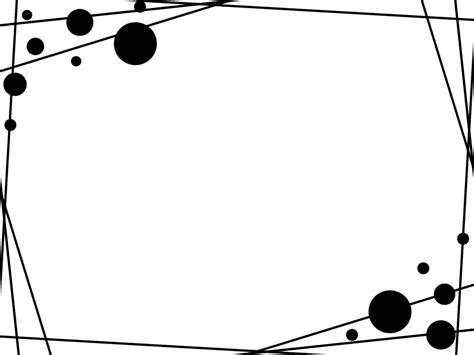 wallpaper powerpoint hitam putih ps边框素材 非常简洁的黑色点线边框