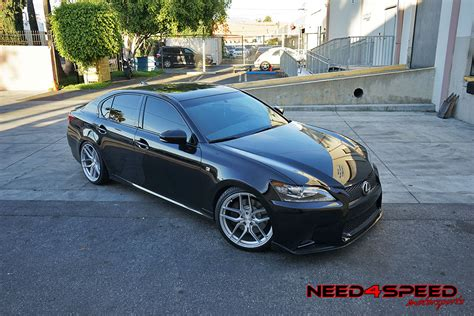 lexus gs350 stance lexus gs350 f sports gets wild on stance sf03 wheels