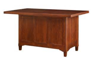 solid wood kitchen island lexington two doors and drawers french chef with williams sonoma
