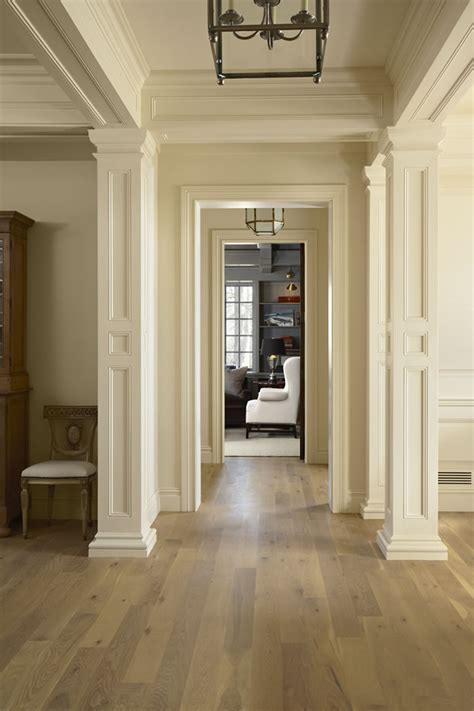 the hallway in a newly constructed house by murphy co design buffalo mn features birch
