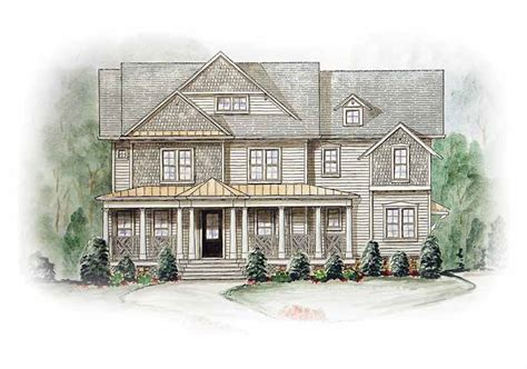 dual master suites plus loft 15801ge architectural two story country kitchen 15774ge 2nd floor master