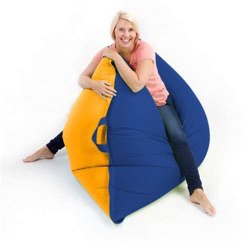 Floor Bean Bag by Two Tone Bean Bag Floor Cushion Beanbag