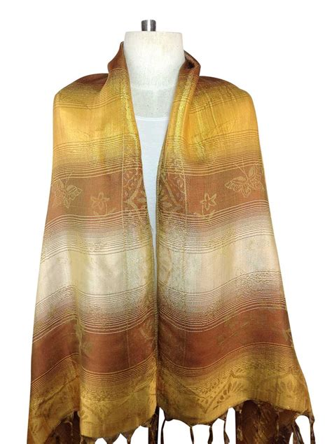 gold scarf silk order direct from thailand