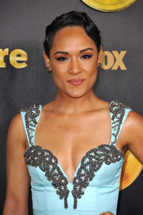 hairstyles on empire tv show grace gealey editorial stock image image 49938404