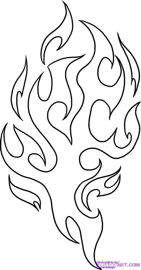 fire flames coloring pages az coloring pages