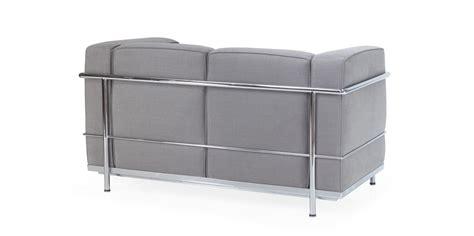 lc2 sessel reproduktion lc2 zweisitzer sofa corbusier reproduktion
