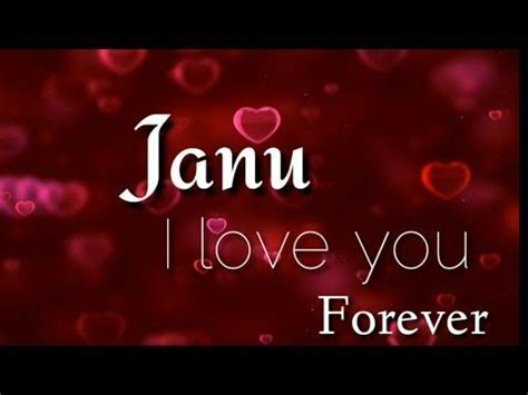 Love You Janu    Love Song    Whatsapp Status Video Song