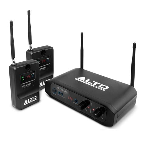 Speaker Wireless alto stealth wireless 2 channel wireless speaker system at