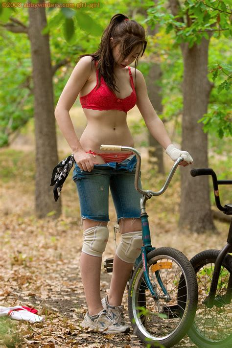 Pale Shaved Teen Forest From Abbywinters In Forest Tgp Gallery