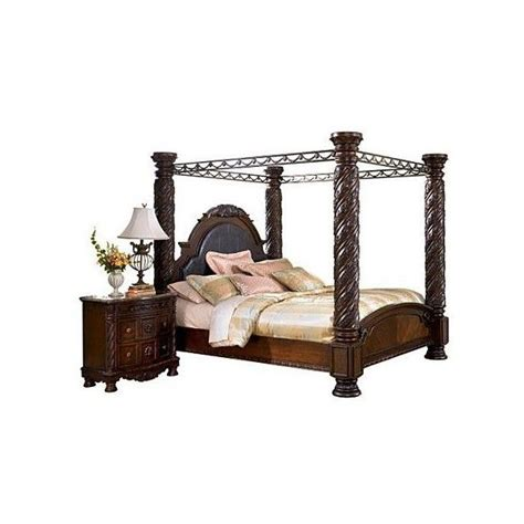 north shore king canopy bed pin north shore canopy bedroom set on pinterest