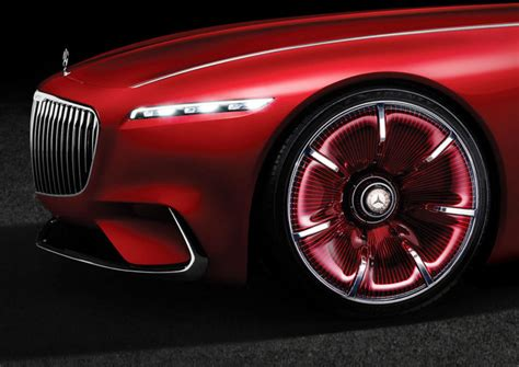 mercedes 6 wheel vision mercedes maybach 6 is a six meter long electric