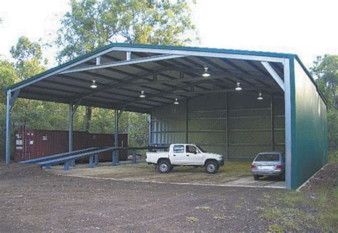 prefabricated structure steel shed  gable roof  mono
