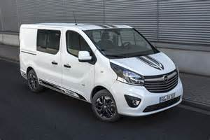 Vauxhall Vivaro Sport Opel Vivaro Sport Gives Big A More Aggressive Look
