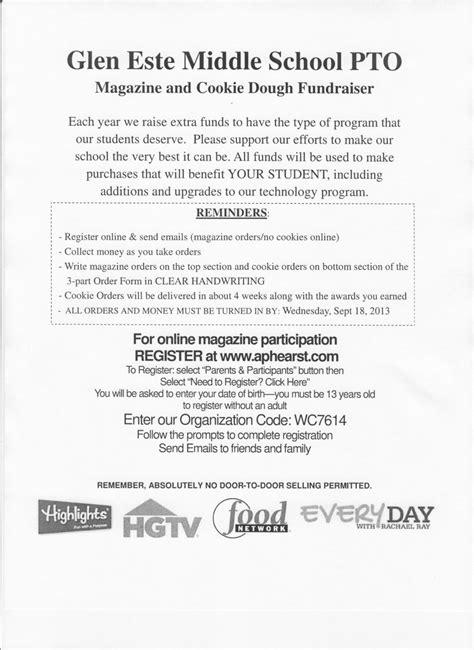 Fundraising Letter Pto School 4