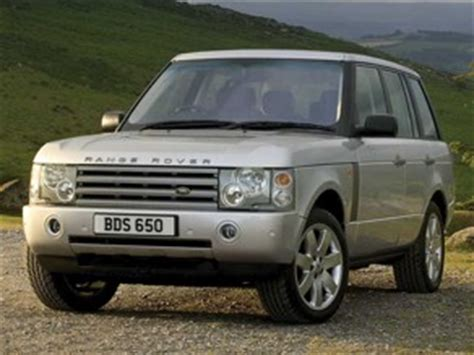 is range rover reliable range rover 2001 2007 car reliability index