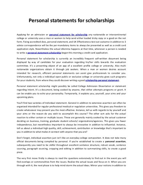 sample personal statement for fulbright scholarship brightlink