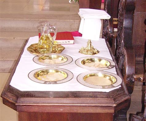 kredenz kirche gabenbereitung