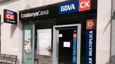 cierre oficinas catalunya caixa bbva y catalunyacaixa culminan su integraci 243 n