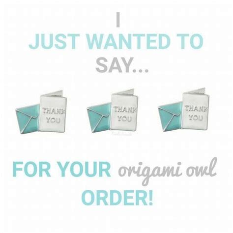 Origami Owl Thank You - 25 best ideas about origami owl on