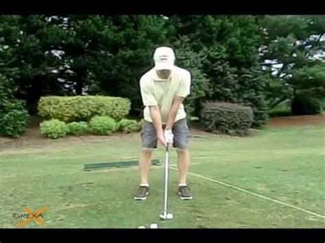 golf swing wall drill the wall drill by grexa golf instruction doovi
