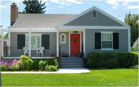 blue house white trim front door blue house red door new ideas gray house red front door