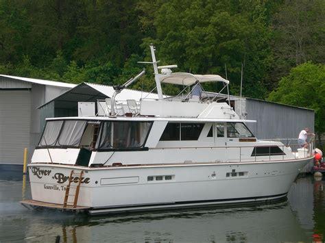 trojan boats 1977 trojan 54 deckhouse motoryacht power new and used