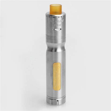 Mod Vape R233 Authentic authentic centsu vape hanglee silver ss 24mm mechanical mod rda kit