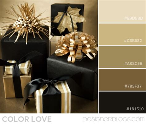 gold and gray color scheme color palette love black gold designerblogs com