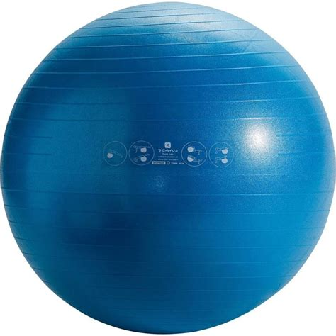 Bola Filates Anti Burst Medium Original Domyos minge pilates anti explozie decathlon ro