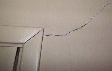 crepe soffitto crepe muratura crepe nelle pareti