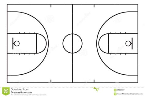 Xs Floor Plan by Basketball Court Background For Sport Strategy