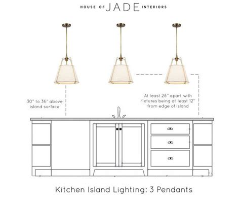 Standard Height For Pendant Lights Height For Pendant Lights Island Renovation Kitchen Island Dimensions