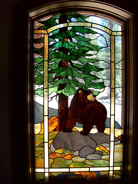 Pine Kitchen Cabinet Doors stained glass visions in glass