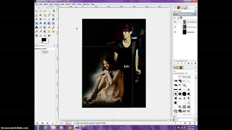 tutorial video gimp 2 8 gimp 2 8 fanfic poster tutorial dark angst poster