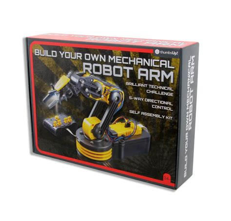Robot Arm Build Your Own Robotic Arm Science Educational Build Your Own Sleeve
