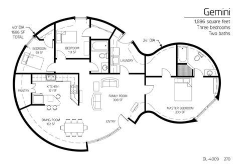 monolithic dome floor plans floor plan dl 4009 monolithic dome institute