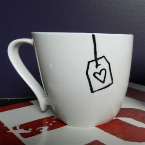 how to decorate a mug at home easy diy gift decorate a mug with a sharpie