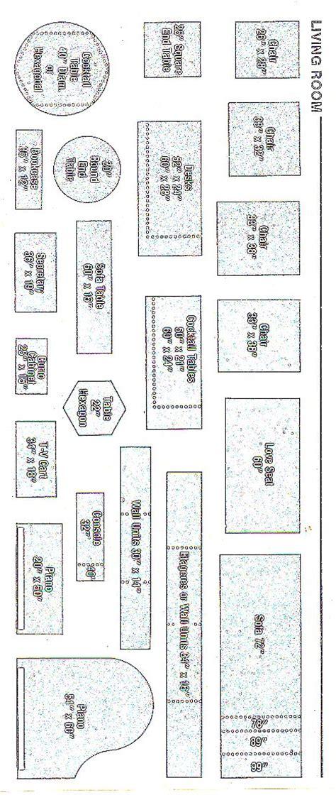 free printable furniture templates furniture template templatequarterscale2 quarter inch scale minis pinterest