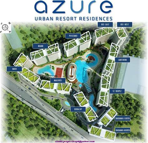 The Azure Floor Plan by Condominium Paranaque City Beside Sm Bicutan Azure