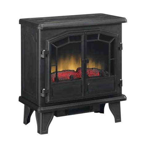 Menards Electric Fireplace Heaters by 139 Large Electric Stove In Black Menards Dimensions