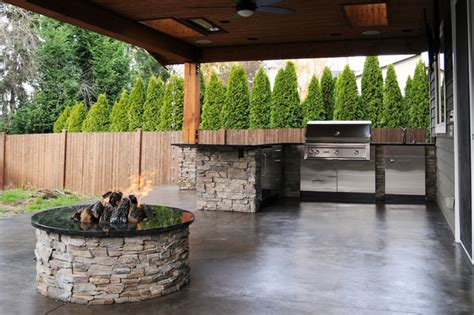 covered pit ideas covered patio firepit